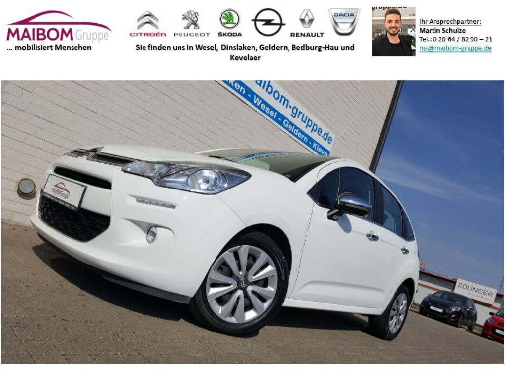 Citroën C3 Pure Tech VTi 82 *PANORAMASCHEIBE*SITZHEIZUNG, Jahr 2014, Benzin