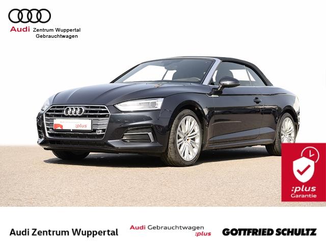 Audi A5 Cabrio 2.0TFSI LEDER R-KAM B O HUD VIRTUAL KEYLESS DRIVE SELECT XEN NAV SHZ PDC VO HI 18Z Sport, Jahr 2018, Benzin