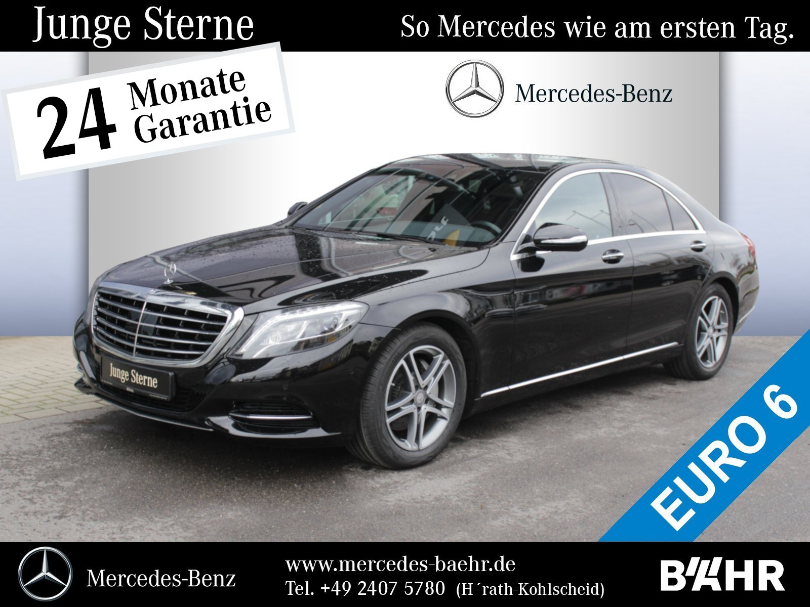 "Mercedes-Benz S 350 d Comand/ILS/Distronic/RFK/Totwinkel/18"", Jahr 2015, diesel"