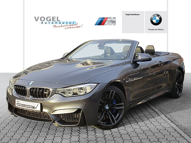 BMW M4 Cabrio M Drivers P. Euro 6 Navi Prof Head-Up Display Rückfahrkamera PDC Driving Assistant Klima Sitzheizung LED Speed Limit Info, Jahr 2017, Benzin