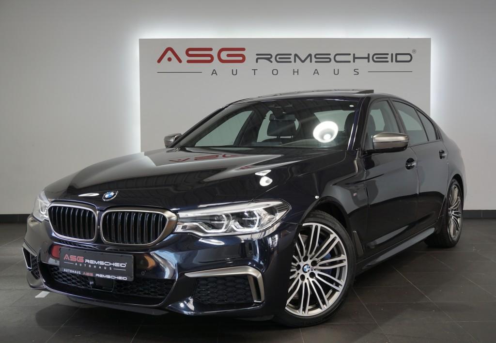 BMW M550 i xD M Paket *1.H *Abstand *Standhzg*AHK*, Jahr 2017, Benzin