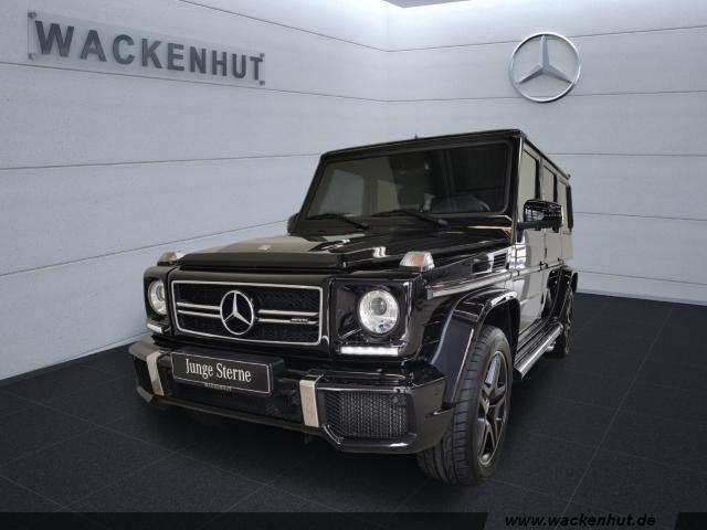 Mercedes-Benz G 63 AMG DRIVER+DISTR+STANDH+KAMER+SHB+SMARTPHON, Jahr 2017, Benzin