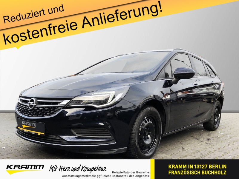 Opel Astra Sports Tourer Edition 1.4 Turbo EU6d-T Navi PDCv+h LED-Tagfa, Jahr 2018, Benzin