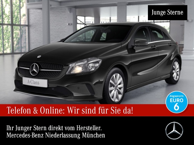 Mercedes-Benz A 180 d Style Kamera Navi PTS 7G-DCT Sitzh Temp, Jahr 2018, Diesel
