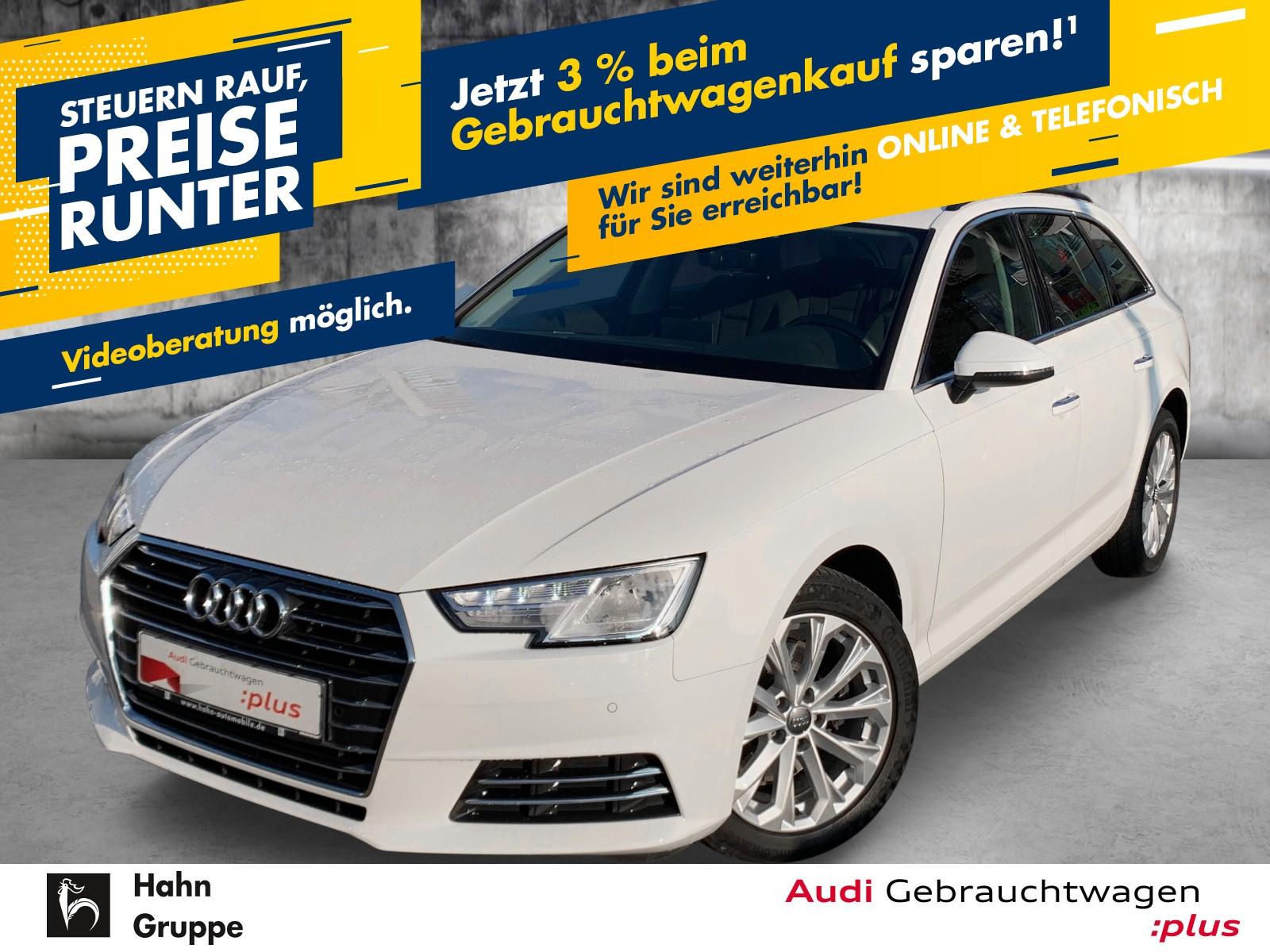 Audi A4 Avant 2.0TDI Design Xen+ Navi EinparkH SitzH AHK, Jahr 2017, Diesel