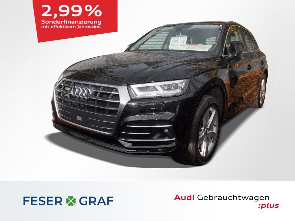 Audi Q5 2.0TFSI quattro S tronic 2x S line/B&O/Virtua, Jahr 2017, Benzin