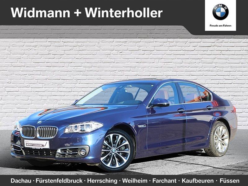 BMW 550i xDrive Limousine Head-Up HiFi Adapt.Dr., Jahr 2016, petrol