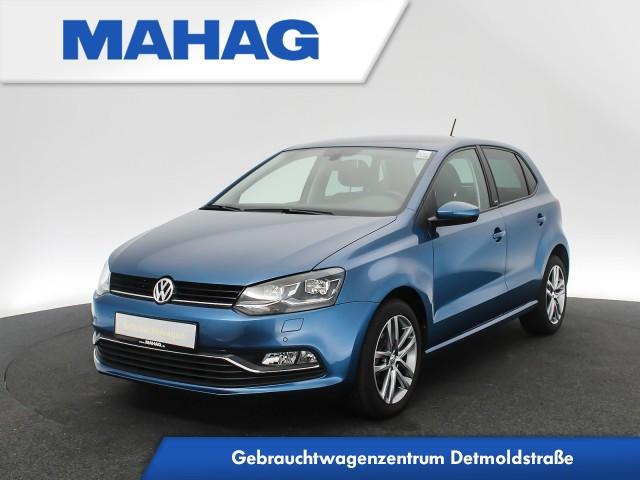 Volkswagen Polo 1.2 TSI Allstar LED Sitzhz. ParkPilot 16Zoll 5-Gang, Jahr 2016, Benzin
