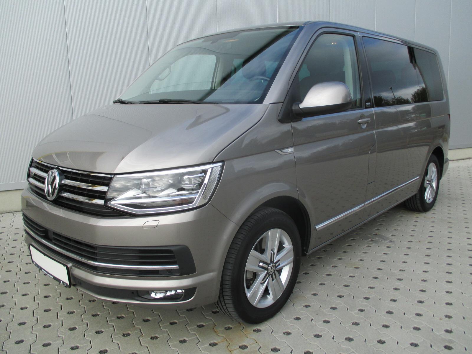 Volkswagen Multivan 2.0 TDI*4Mo*Genera6*LED*Standh*AHK*Alca, Jahr 2017, Diesel