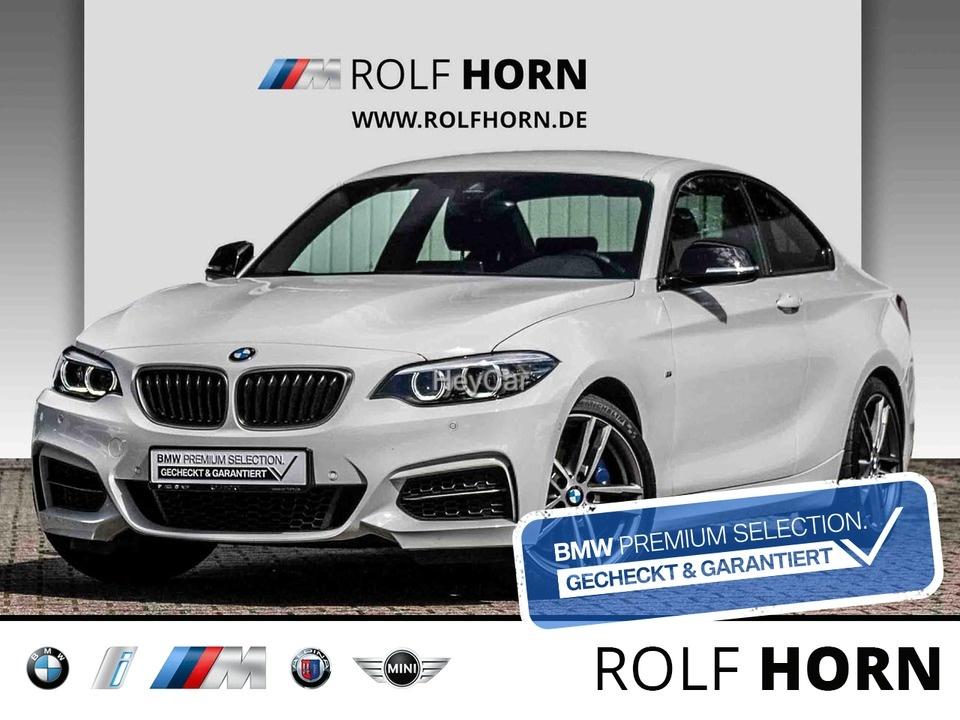 BMW M240iA Coupe Navi HiFi PDC DAB M Sportbremse SHZ, Jahr 2021, Benzin