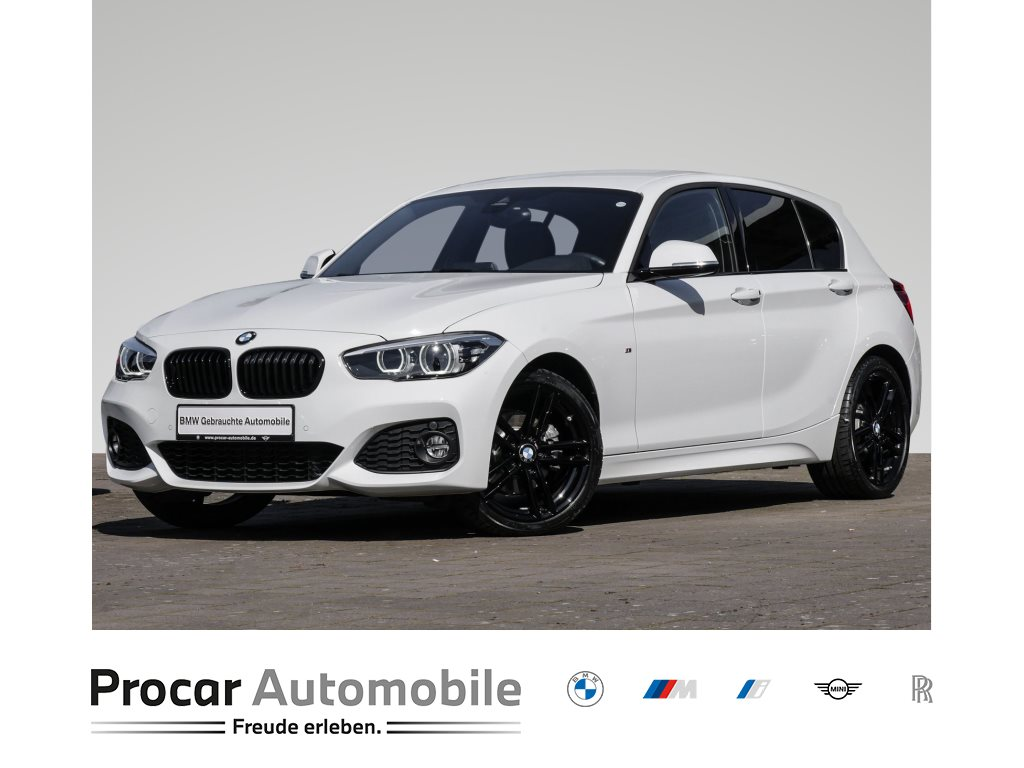 BMW 120i 5-Türer M Sport Edition Aut. Navi LED HIFI, Jahr 2018, Benzin