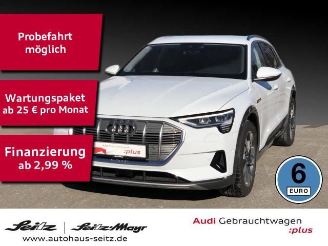 Audi e-tron 55 qu. LED Navi Leder DAB ACC Kamera, Jahr 2019, Elektro