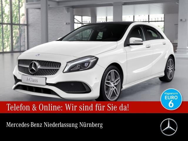 Mercedes-Benz A 180 AMG Pano LED Kamera Navi PTS 7G-DCT Sitzh, Jahr 2016, Benzin