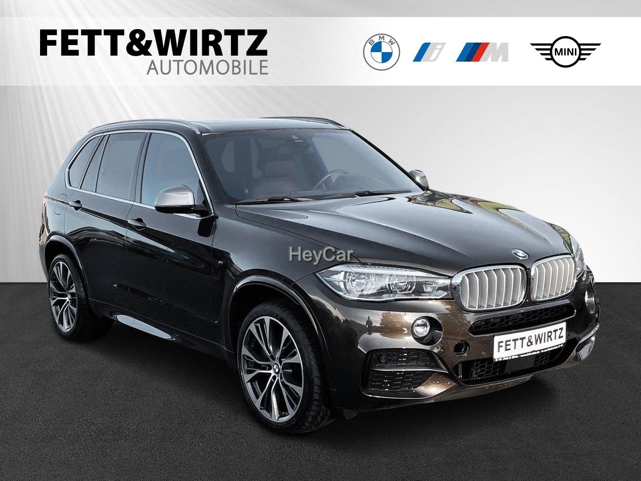 BMW X5 M50d M Sport 21'' HUD Pano AHK Standhzg. H/K, Jahr 2018, Diesel