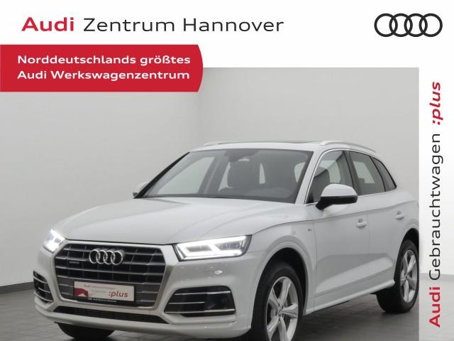 Audi Q5 45 TDI qu. sport+Standh.+Pano+ACC+AHK+LED, Jahr 2019, Diesel