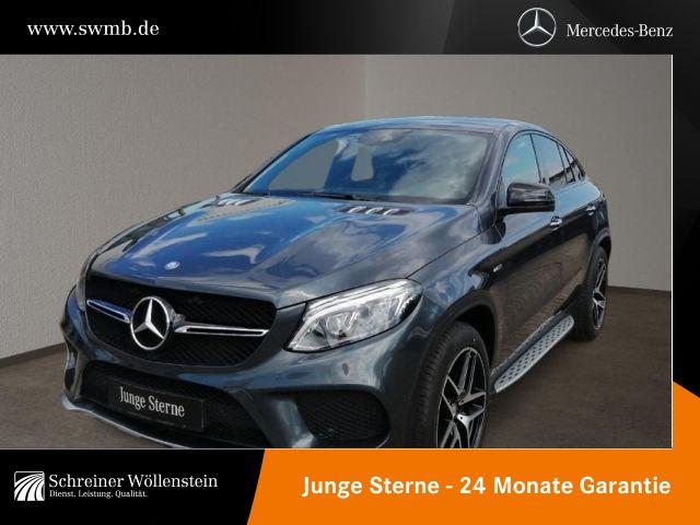 Mercedes-Benz GLE 450 AMG 4M Coupé KeyGo*Harman*AIRMATIC*COM*, Jahr 2015, Benzin