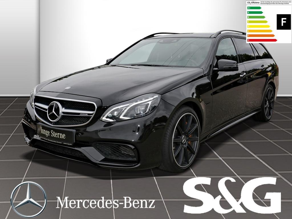 Mercedes-Benz E 63 AMG Keramik/Parktronic/Distronic/Comand, Jahr 2016, petrol