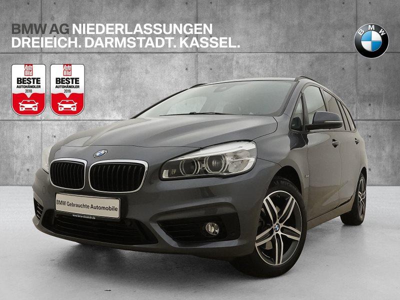 BMW 216 Gran Tourer i Sport Line LED Pano.Dach Navi, Jahr 2017, Benzin