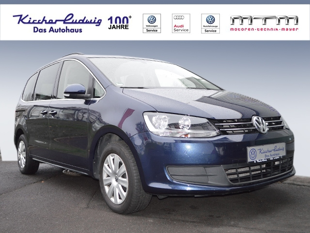 Volkswagen Sharan 2.0 TDI Comfortline Navi Klima AHK, Jahr 2013, diesel