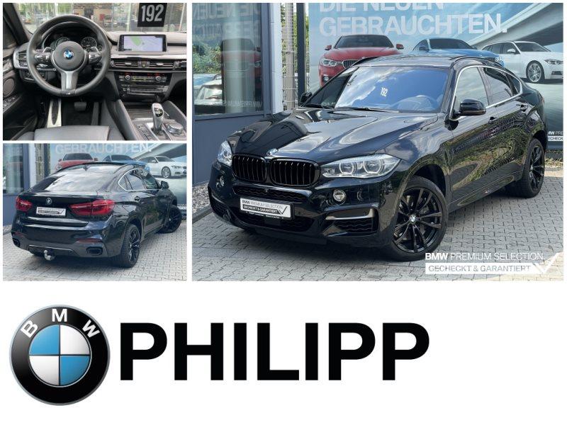 BMW X6 M50d M Sportpaket HUD TV-Fond AHK GSD h&k, Jahr 2017, Diesel