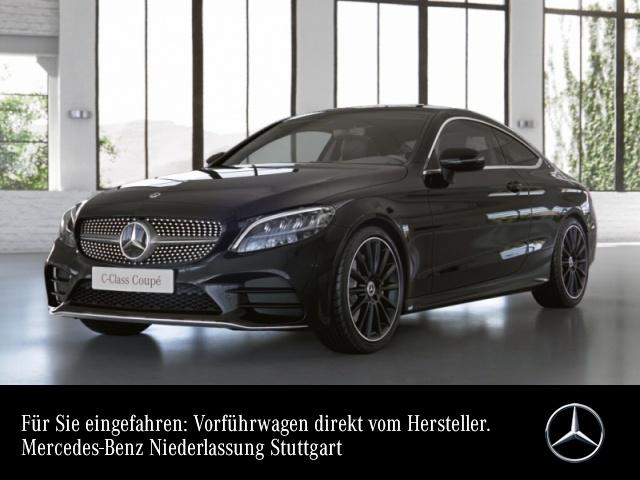 """Mercedes-Benz C 200 Coupé AMG+Pano+LED+Kamera+19""""+Spur+Totw+9G, Jahr 2021, petrol"""