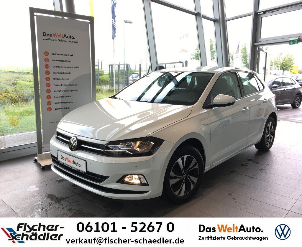 Volkswagen Polo Comfortline 1.0TSI*AppC.*Ready2Discover*PDC, Jahr 2021, Benzin