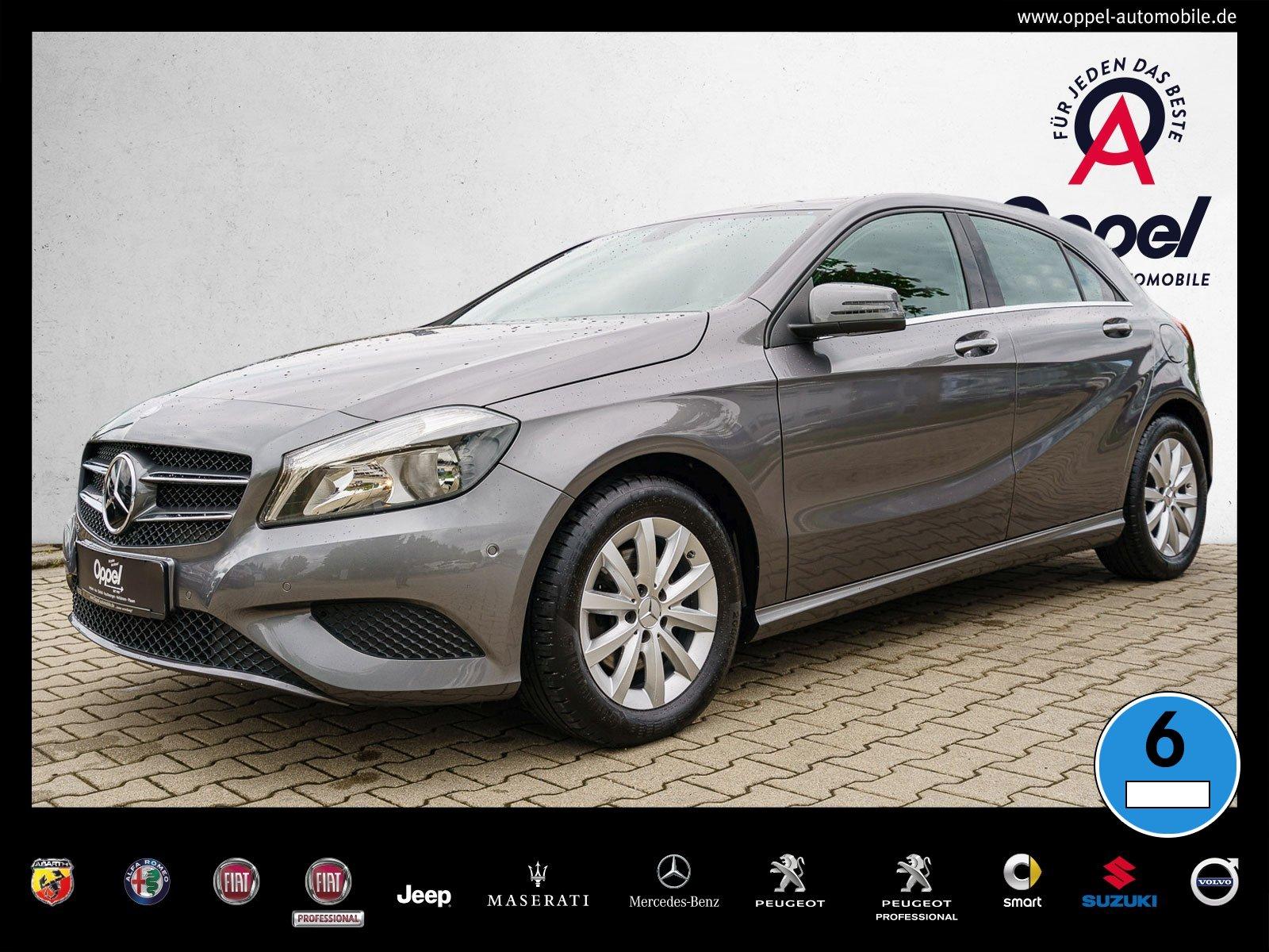 Mercedes-Benz A 180 STYLE ++PTS+KLIMA+START-STOP+SITZHEIZUNG++, Jahr 2014, Benzin