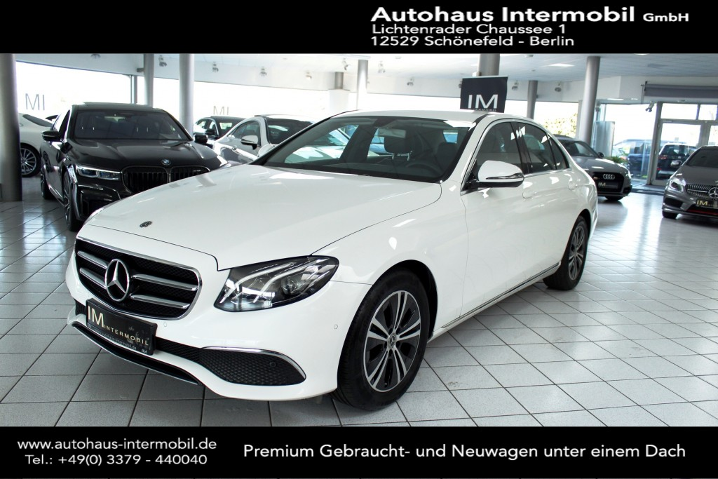 Mercedes-Benz E 300 d Avantgarde*LED*Widescreen*Navi*Kamera*, Jahr 2020, Diesel