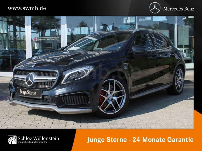 Mercedes-Benz GLA 45 AMG 4M Drivers-P. 1Hd/ILS/DISTRONIC/Pano., Jahr 2016, Benzin