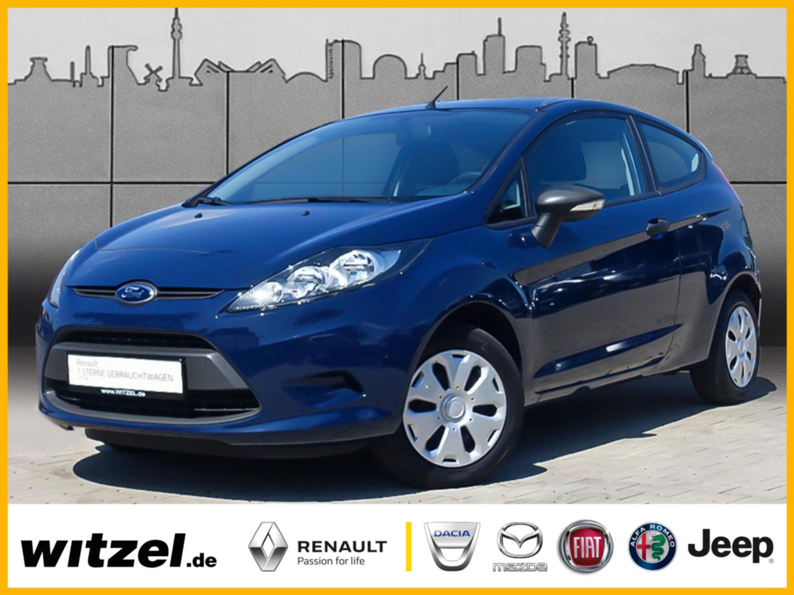 Ford Fiesta 1.25 Ambiente KLIMA ZV SERVO eSPIEGEL ABS, Jahr 2012, petrol
