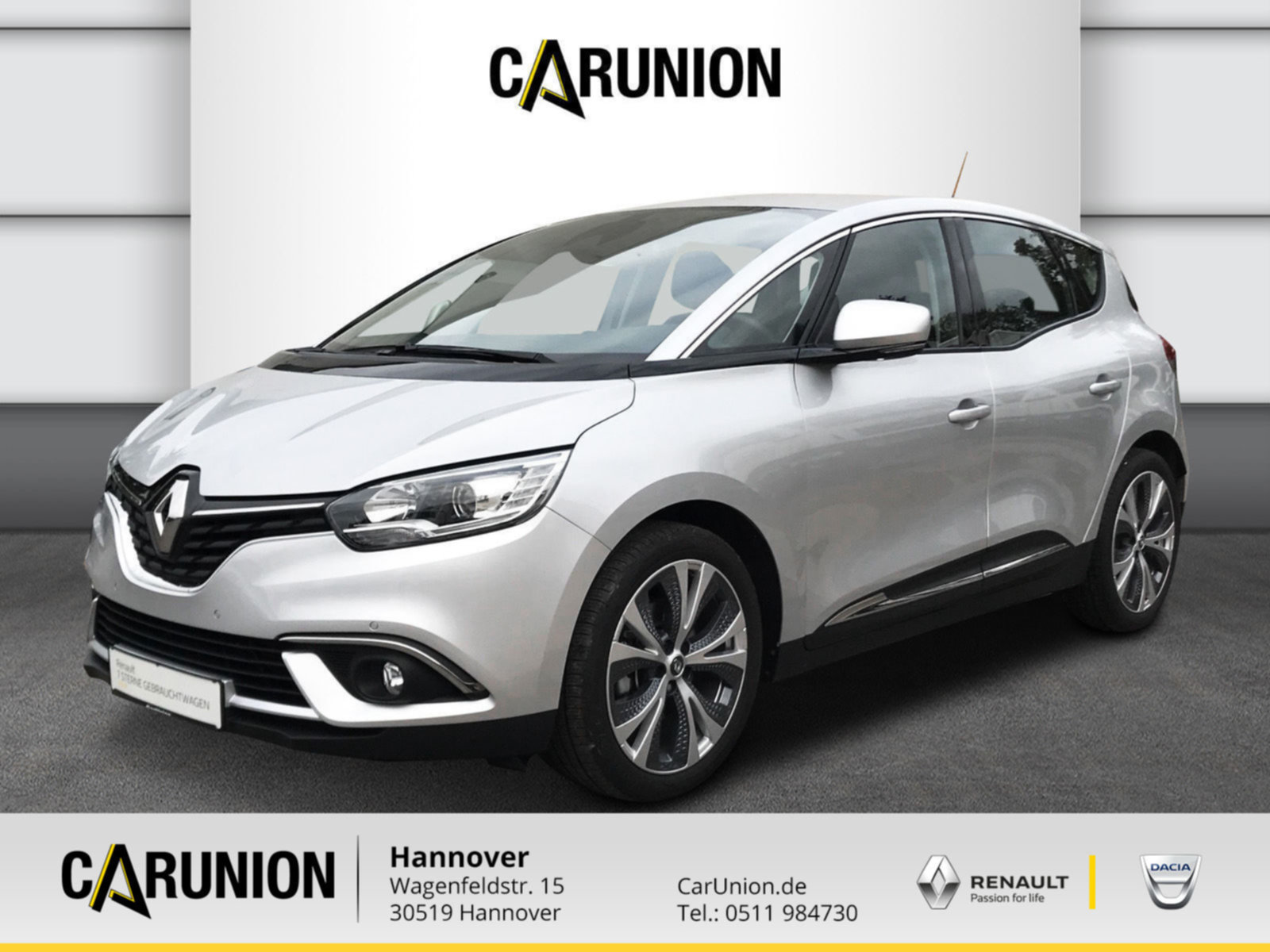 Renault Scenic Intens ENERGY TCe 130, Jahr 2018, Benzin