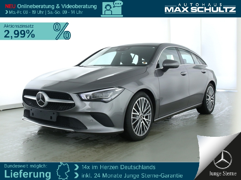 Mercedes-Benz CLA 250 SB Progressive*Burmest.*LED*360°*Sitzkl., Jahr 2019, Benzin