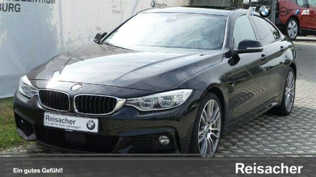 BMW 440i A Gran Coupè M-Sportpaket,HUD,RFK,Glasdach, Jahr 2016, petrol