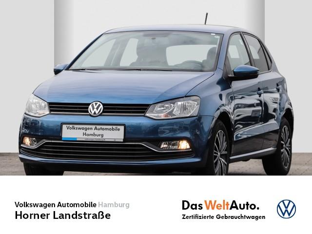 Volkswagen Polo 1.0 Allstar Einparkhilfe Nebel Alufelgen, Jahr 2017, Benzin