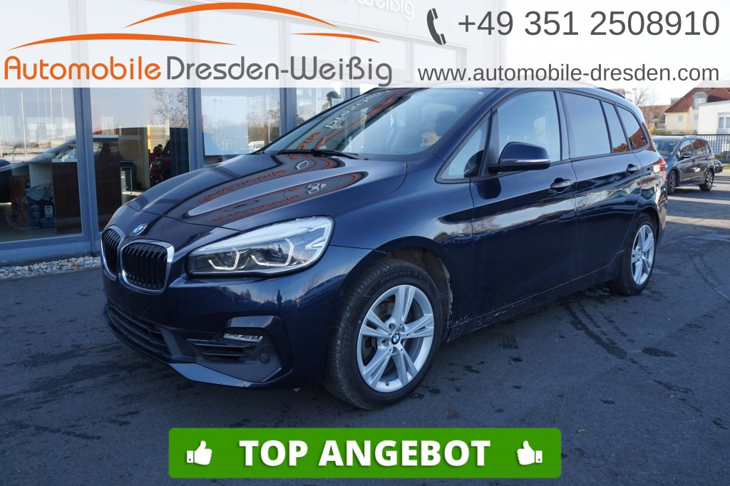 BMW 216 Gran Tourer i Sport Line*Navi*Kamera*HiFi*, Jahr 2018, Benzin