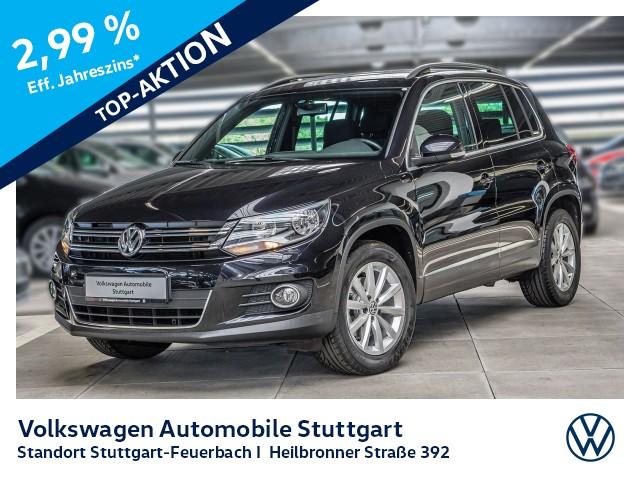 Volkswagen Tiguan 1.4 TSI Lounge DSG Navi AHK Kamera, Jahr 2016, Benzin