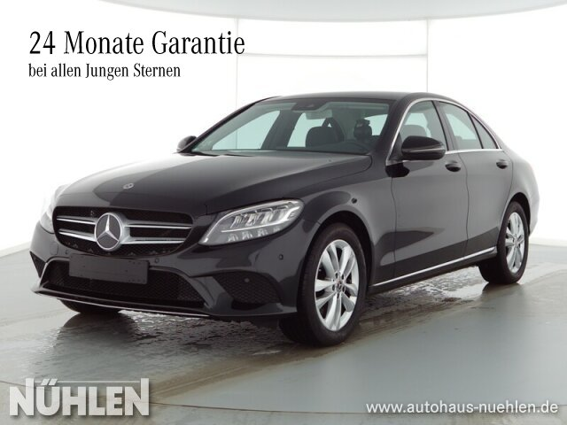 Mercedes-Benz C 220 d AVANTGARDE Exterieur+LED+Sitzhzg.+Autom., Jahr 2020, Diesel