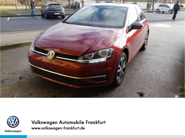 Volkswagen Golf VII 1.0 TSI Comfortline FrontAssist BlindSpot Anschlussgarantie Golf 1,0 CLBMT 85 TSI M6F, Jahr 2019, Benzin