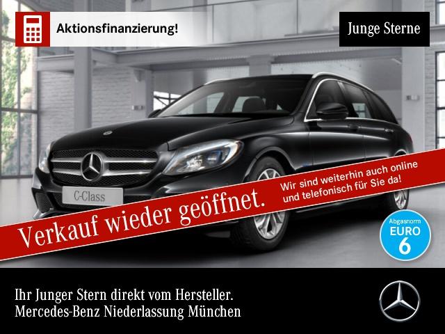 Mercedes-Benz C 350 e T Avantgarde Airmat LED Navi PTS Sitzh, Jahr 2017, Benzin