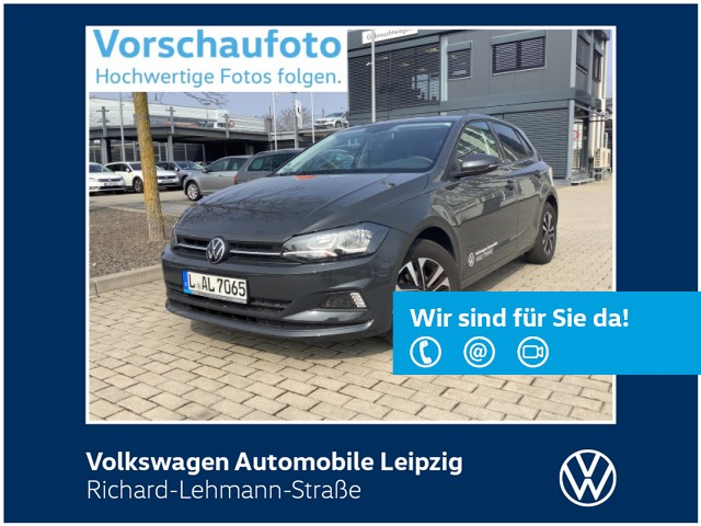"Volkswagen Polo ""United"" 1.0 *Front Assist*DAB*SHZ*, Jahr 2020, petrol"