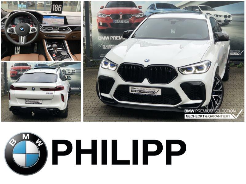 BMW X6 M Competition AHK B&W TV-Fond SkyLounge, Jahr 2020, Benzin
