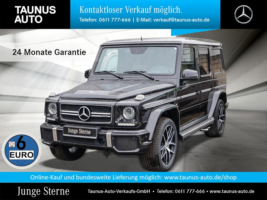 Mercedes-Benz G 63 AMG DESIGNO EXCLUSIVE STH. UPE:163.400,-, Jahr 2017, Benzin
