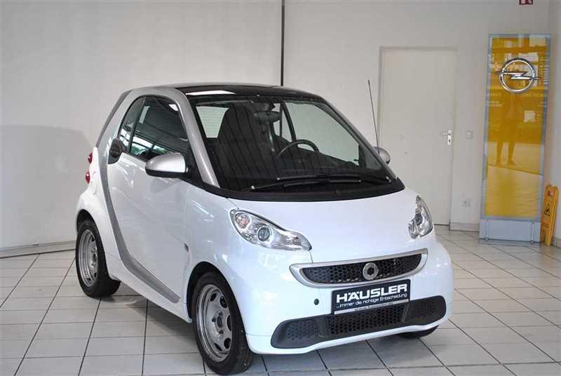 smart fortwo coupe (01.2007->), Jahr 2013, Benzin