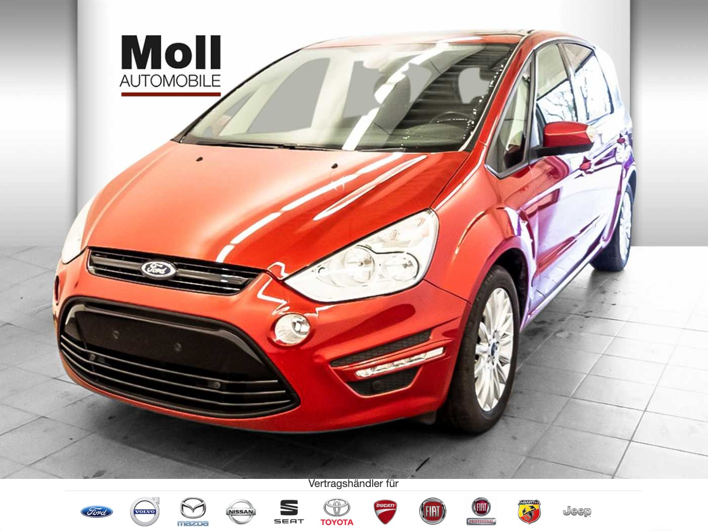 Ford S-Max 1.6 EcoBoost Business Edition PGD Navi SHZ BFS, Jahr 2014, Benzin