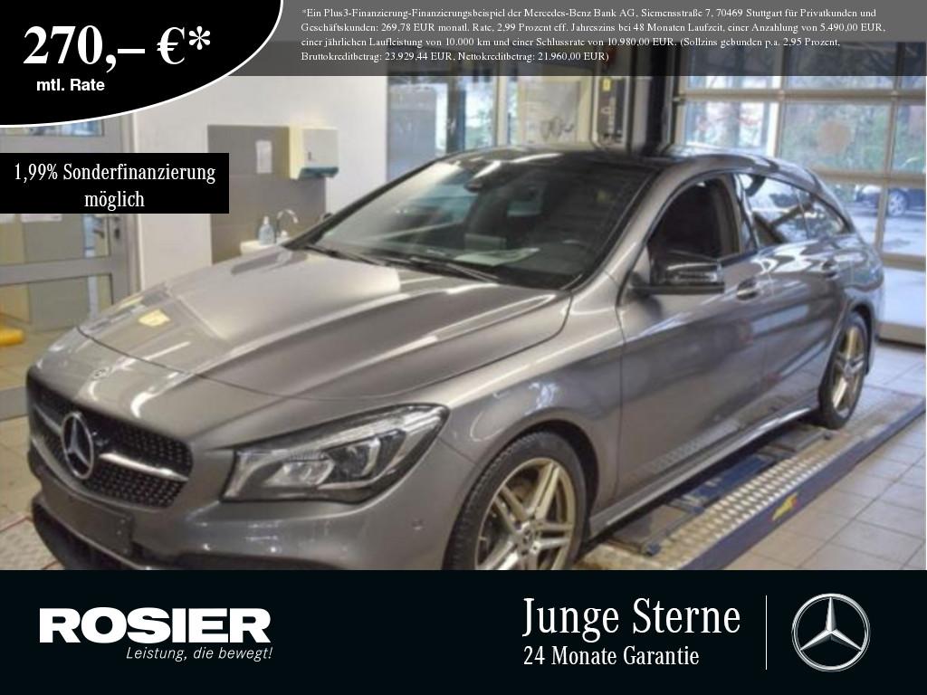 Mercedes-Benz CLA 250 SB 4M AMG Line, Jahr 2017, Benzin