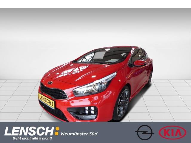 Kia Pro_cee'd 1.6T GT-Challenge NAVI CAM SHZ+LHZ, Jahr 2014, Benzin