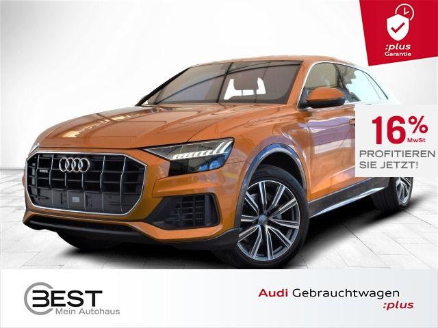 Audi Q8 55 TFSI quattro S-Line Matrix, Luft, VIRTUAL, NAVI-PLUS, PDC+, Kamera, Jahr 2019, Benzin