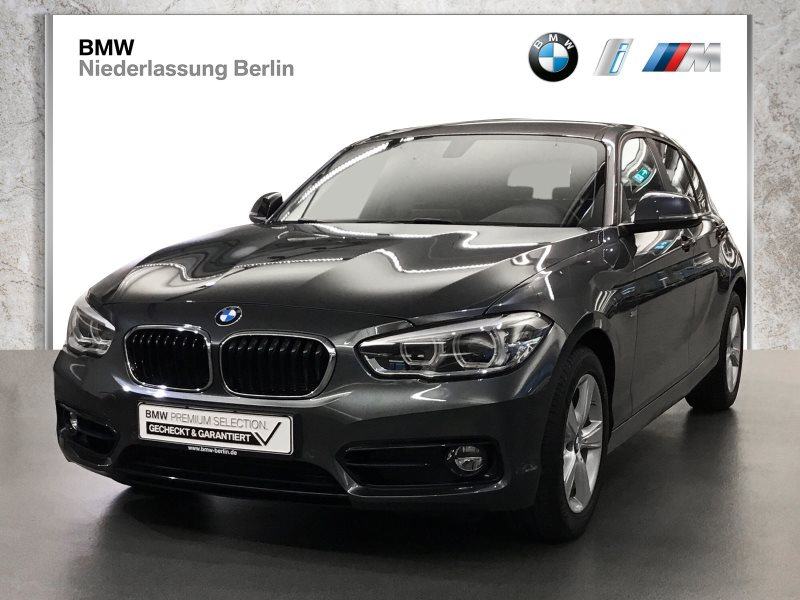BMW 118i 5-Türer EU6 Aut. Sport Line LED Navi Alarm, Jahr 2017, Benzin