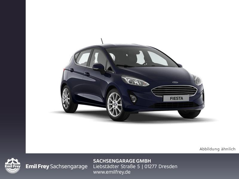 Ford Fiesta 1.5 TDCi COOL&CONNECT Navi RFC PDC v+h, Jahr 2018, Diesel