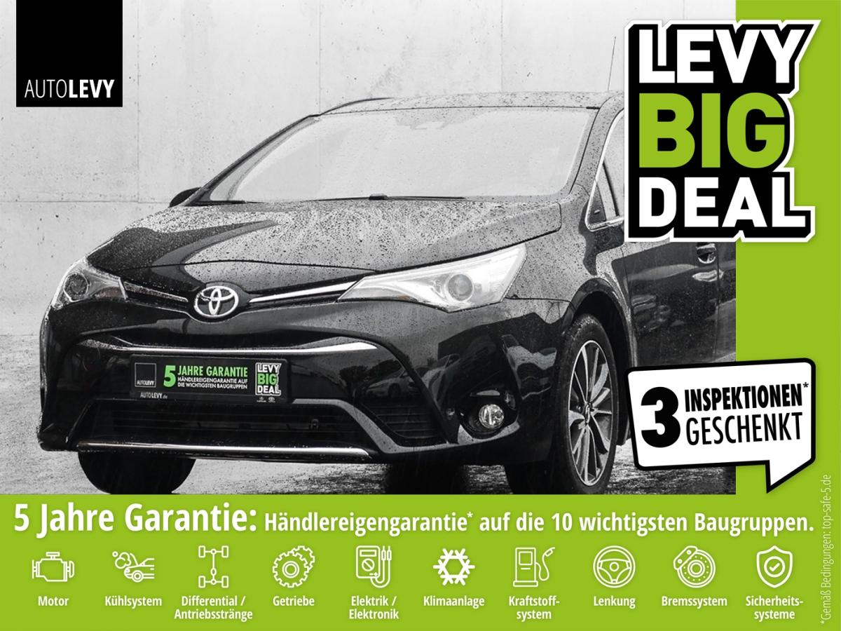 Toyota Avensis TS 1.8 EDITION S+ *NAVI*KLIMA*SHZ*AHK*RF, Jahr 2017, Benzin